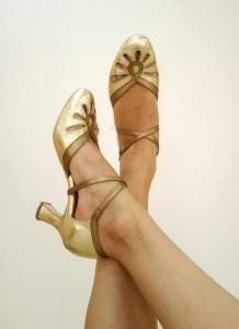 Ksenia's dance shoes
