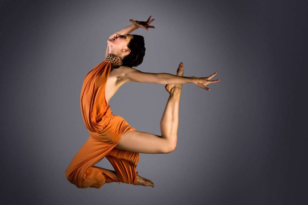 Ksenia Parkhatskaya ballerina y coreografa.