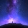 image from the animation to Ksenia Parkhatskaya music single Rose and Blue