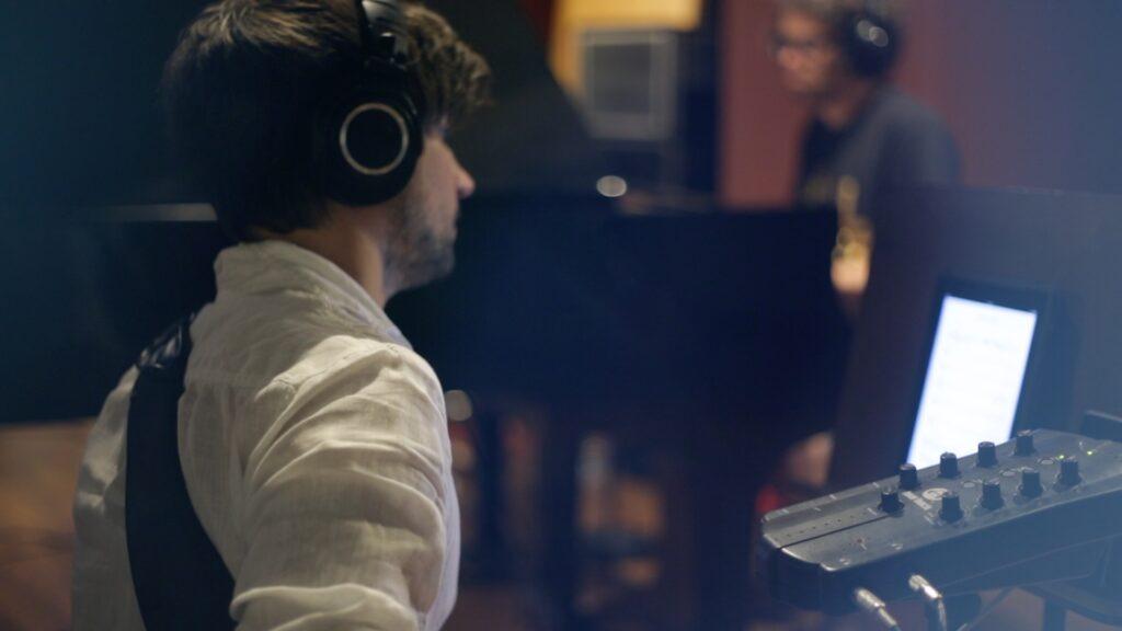 david duffy recording day song behind my eyes by ksenia parkhatskaya