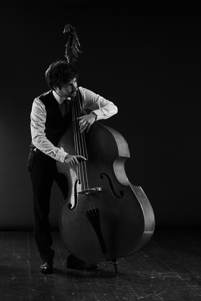 David Duffy, double bass player, composer